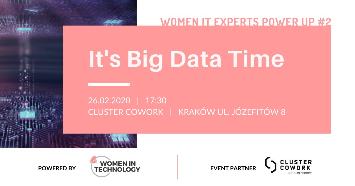 Women It Experts Power Up #2 It's Big Data Time